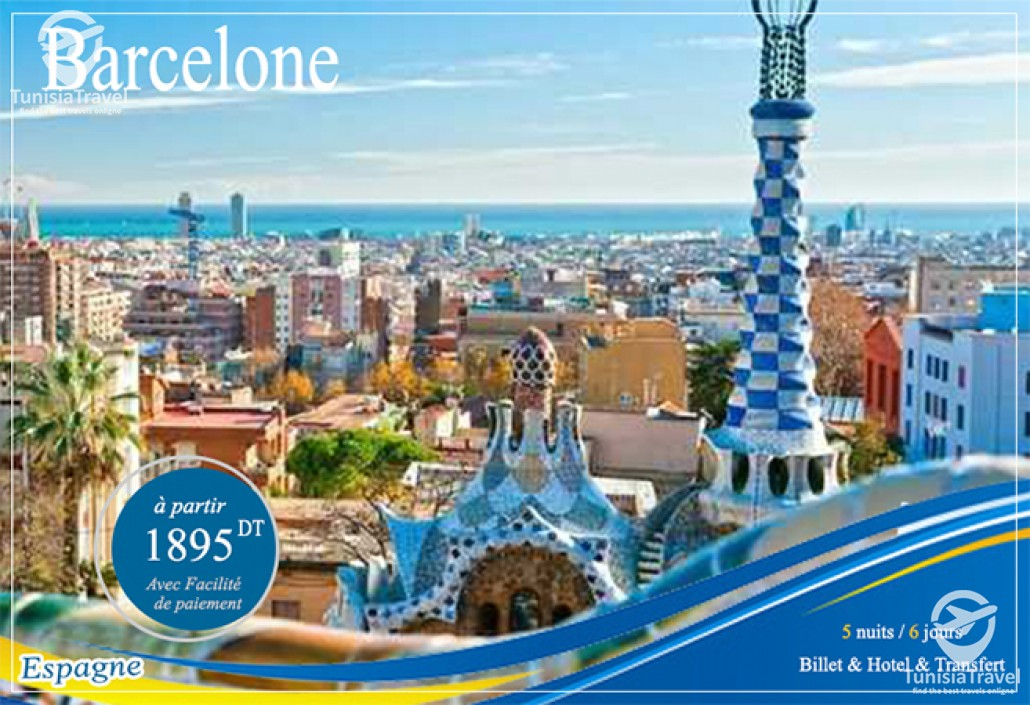 voyage Spécial Vacances Décembre à BARCELONE.