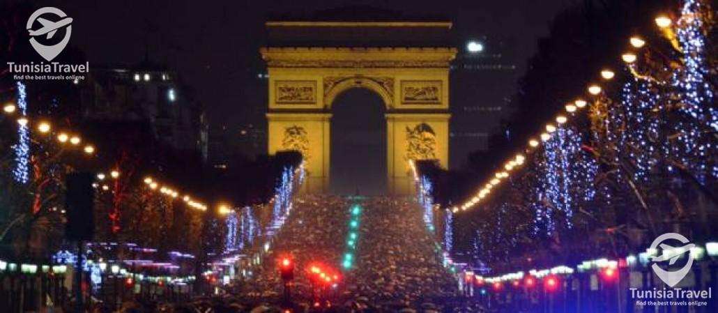 voyage PARIS REVEILLON 2019