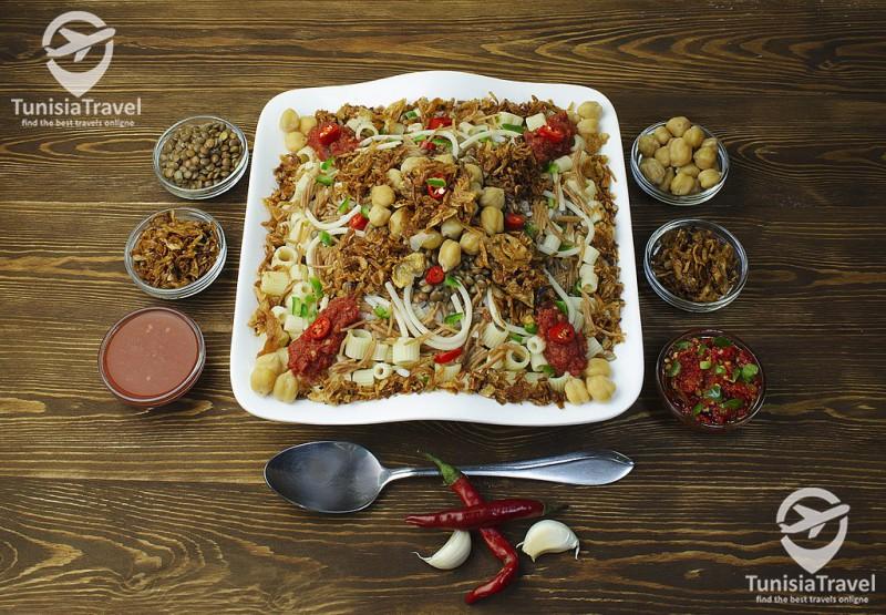 Cuisine Koshary égyptien