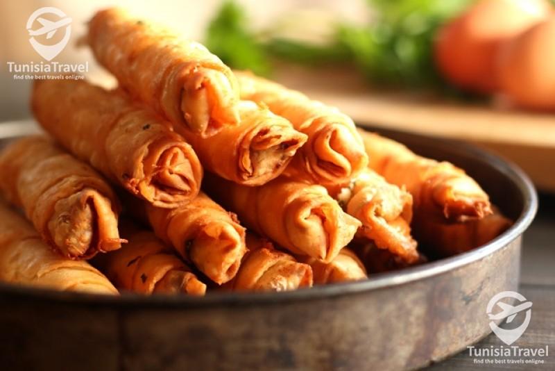 Cuisine Les börek Roulé au Fromage