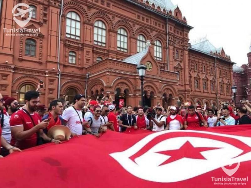 tunisie  tourisme Tunisian attitude (Mondial Russie 2018)