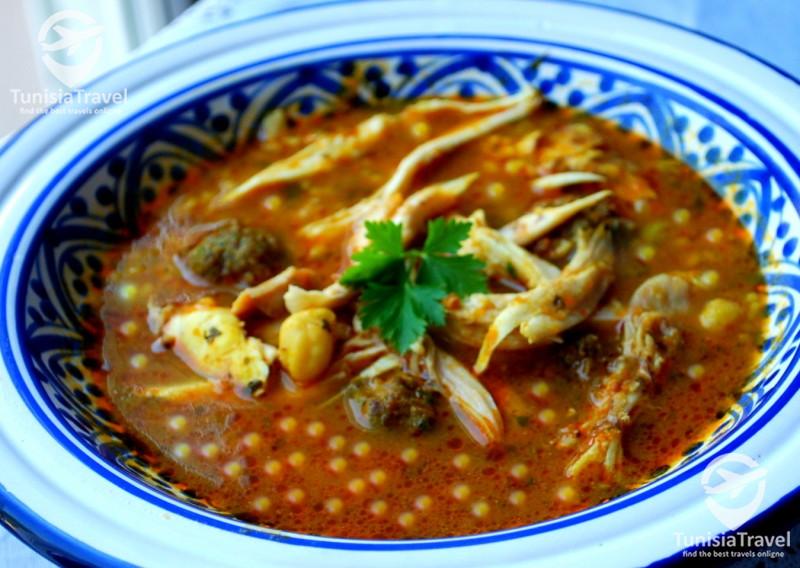 Cuisine Berkoukes algerien