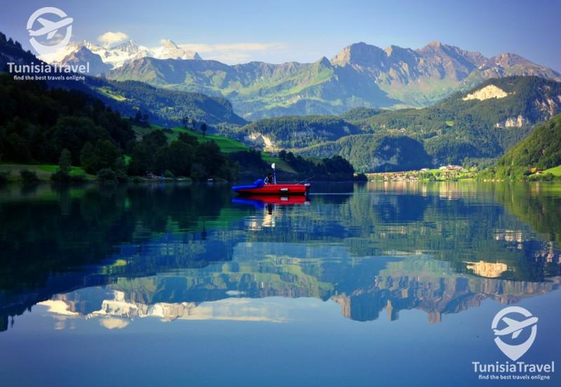 Lac de lungern suisse
