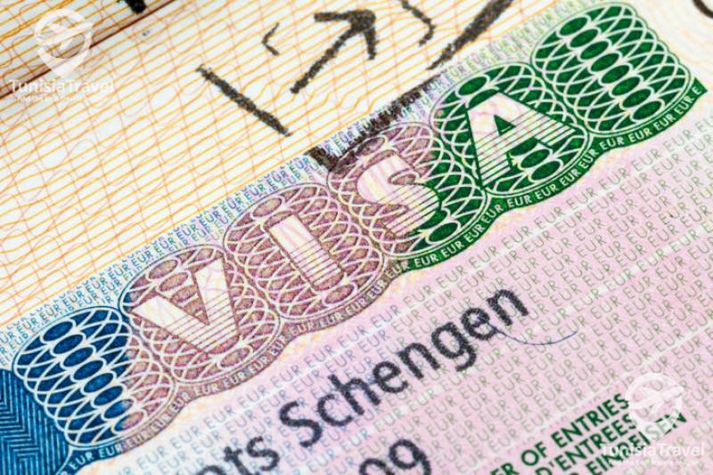 tunisie  tourisme Visa Shengen