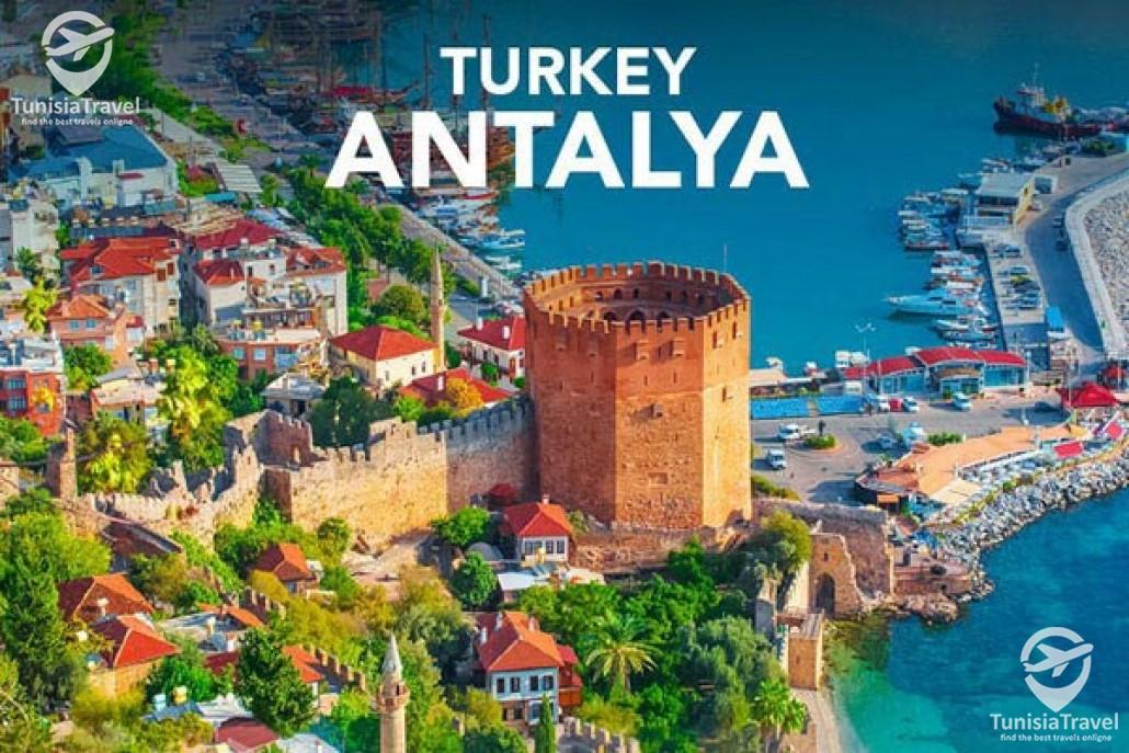voyage Antalya  Départ groupe Vacances d'Eté 2018