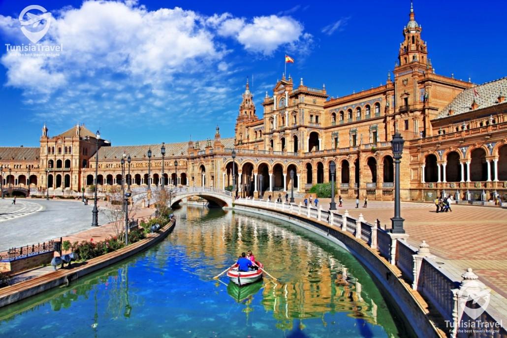 voyage Madrid – Grenade-Seville-Cordoba