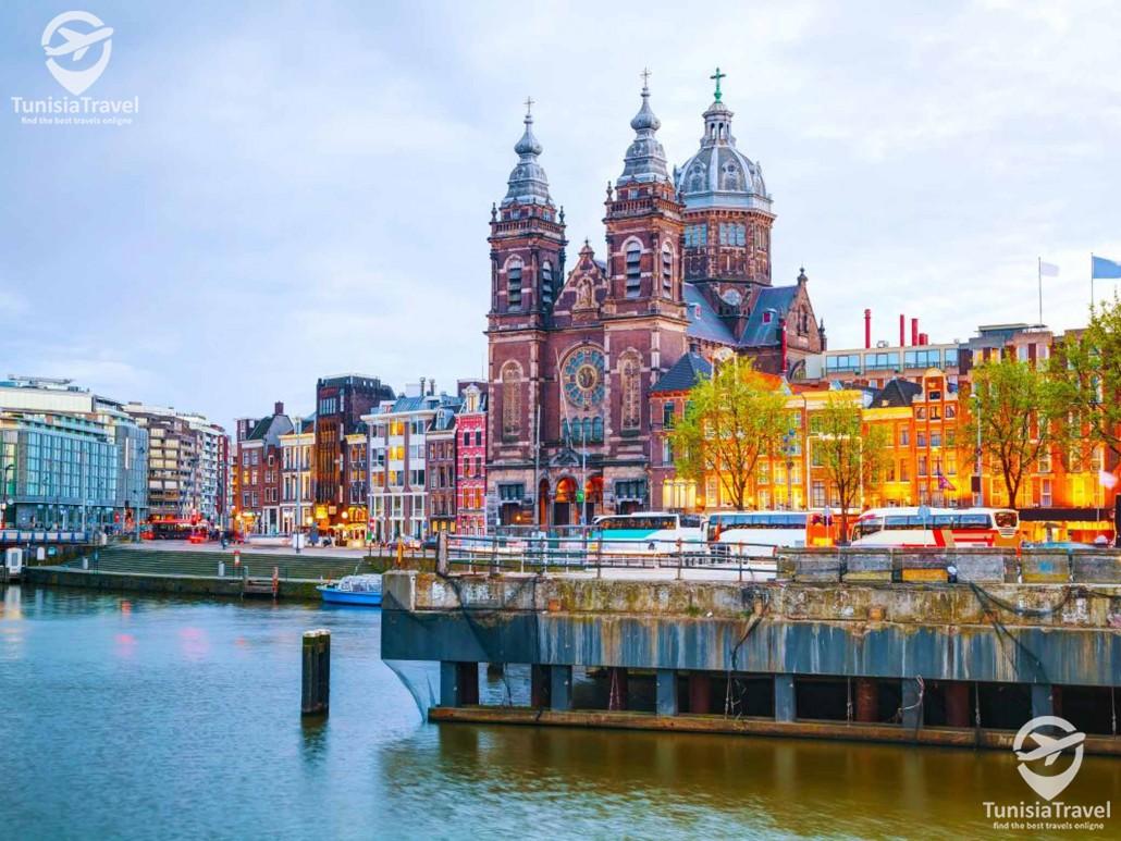 voyage Amsterdam - Bruxelles - Paris