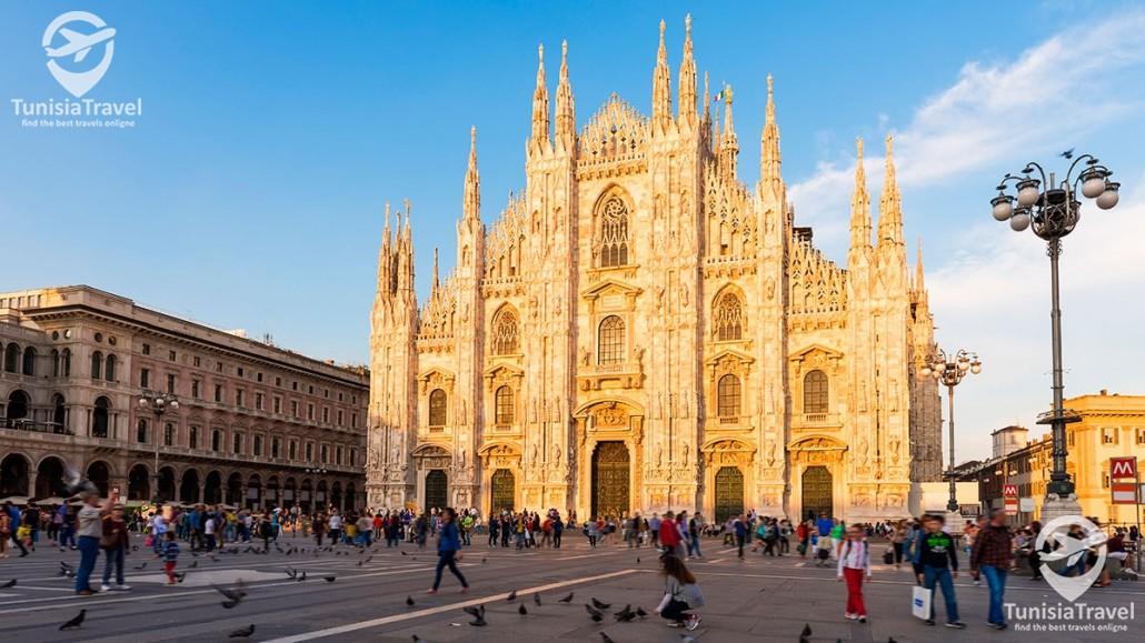 voyage Tour d'Europe : MILAN , NICE & BARCELONE