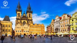 voyage PRAGUE , BRATISLAVA , BUDAPEST & VIENNE