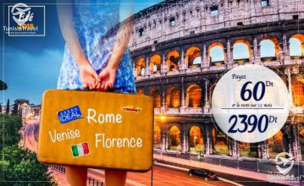 voyage ROME / FLORENCE / VENISE